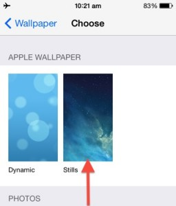 how to make your battery last longer: disable dynamic wallpaper