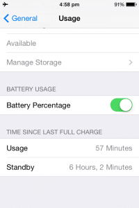 iphone 6 battery life: iphone battery usage monitor