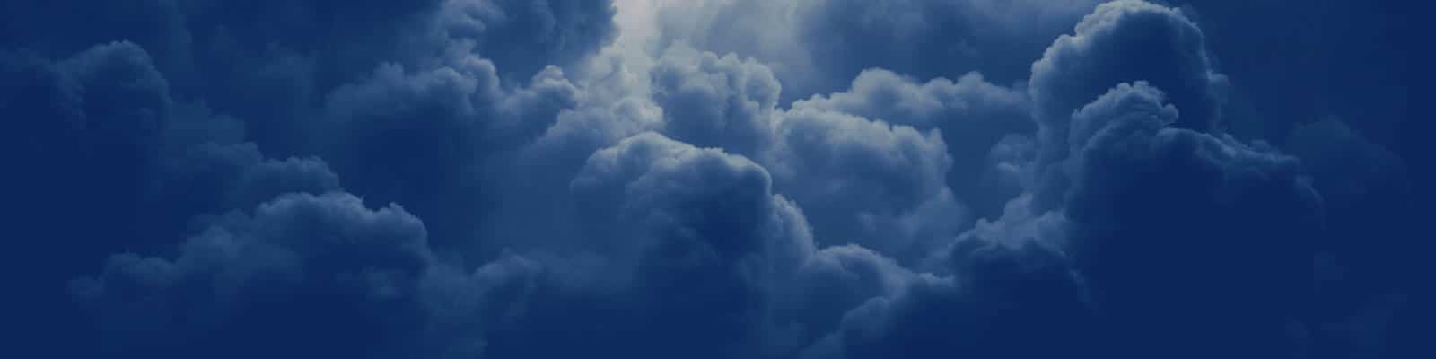 5 Cloud Benefits For A System Administrator Cover Image Of Dark Clouds