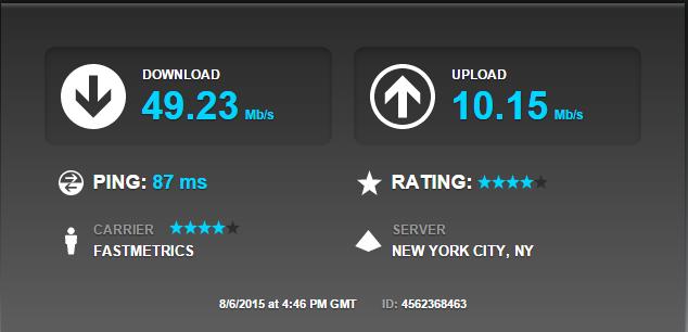 internet speed test san francisco to new york fastmetrics