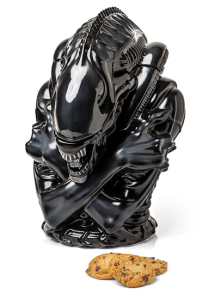 Alien movie Warriors Cookie Jar - ThinkGeek best seller