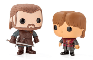 Game of Thrones Vinyl Pop Figures - ThinkGeek best sellers