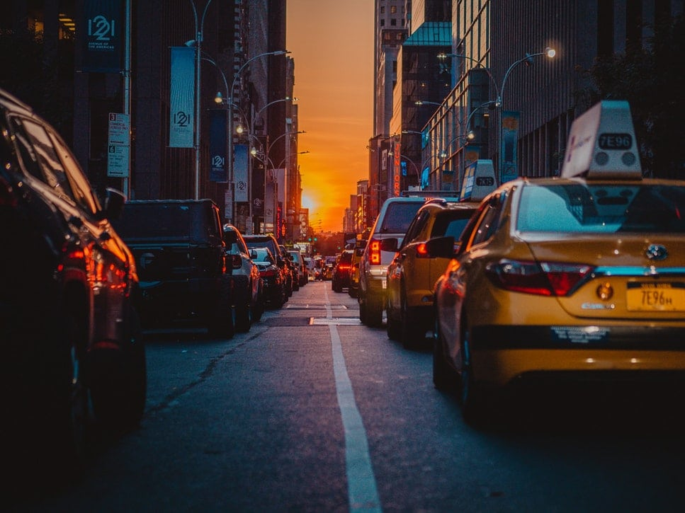traffic jam in new york city nyc