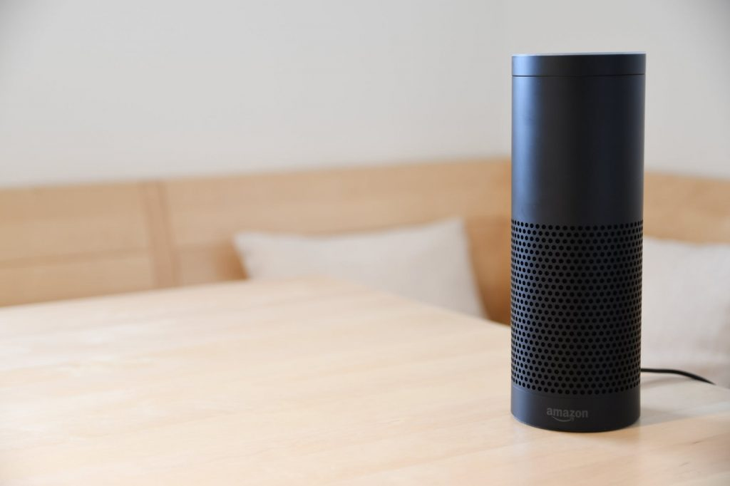 amazon smart speaker is an iot device that can improve workplace experience
