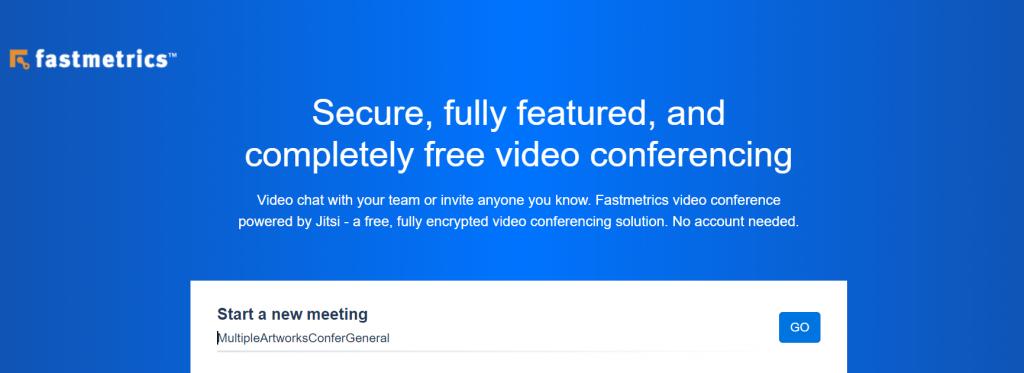free video chat and conference solution