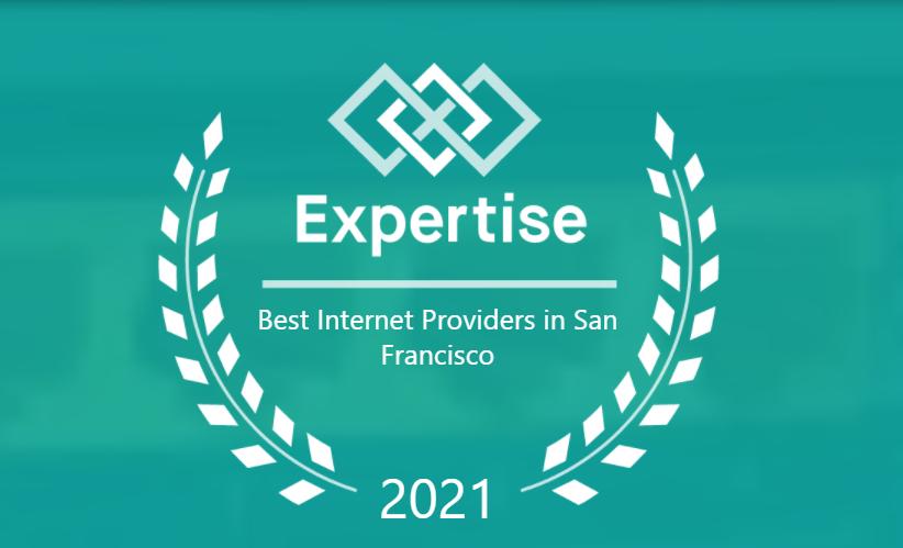 Expertise.com rates Fastmetrics #1 San Francisco Internet Service Provider