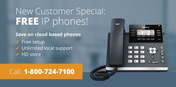 free IP phones special with Fastmetrics business phone systems
