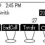 Polycom SoundPoint 430 – Call Timer