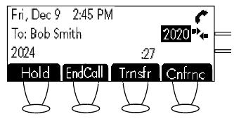 Polycom SoundPoint 430 - Call Timer