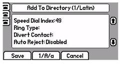 Polycom SoundPoint 650 Divert Calls