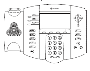 Polycom SoundPoint 650 Parts List 1