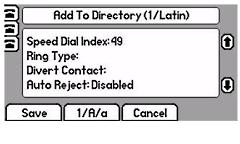 Polycom SoundPOint 650 Reject Calls