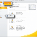 How To Archive E-mails In Outlook 2010