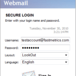 Change your Email Password