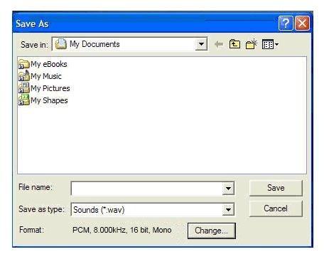 Create wav File 12