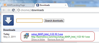 Install MAPI Connector 2