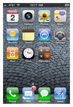 iPhone IMAP 1
