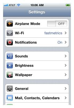iPhone IMAP 2