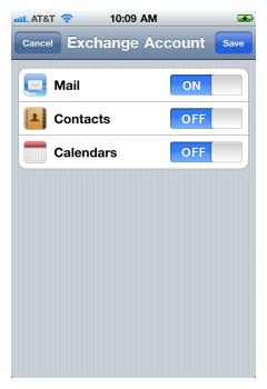 iPhone IMAP 7