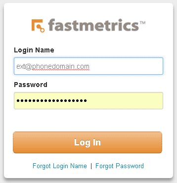 business phone system login page fastmetrics