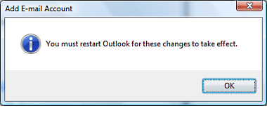 Setup Outlook 2010 13