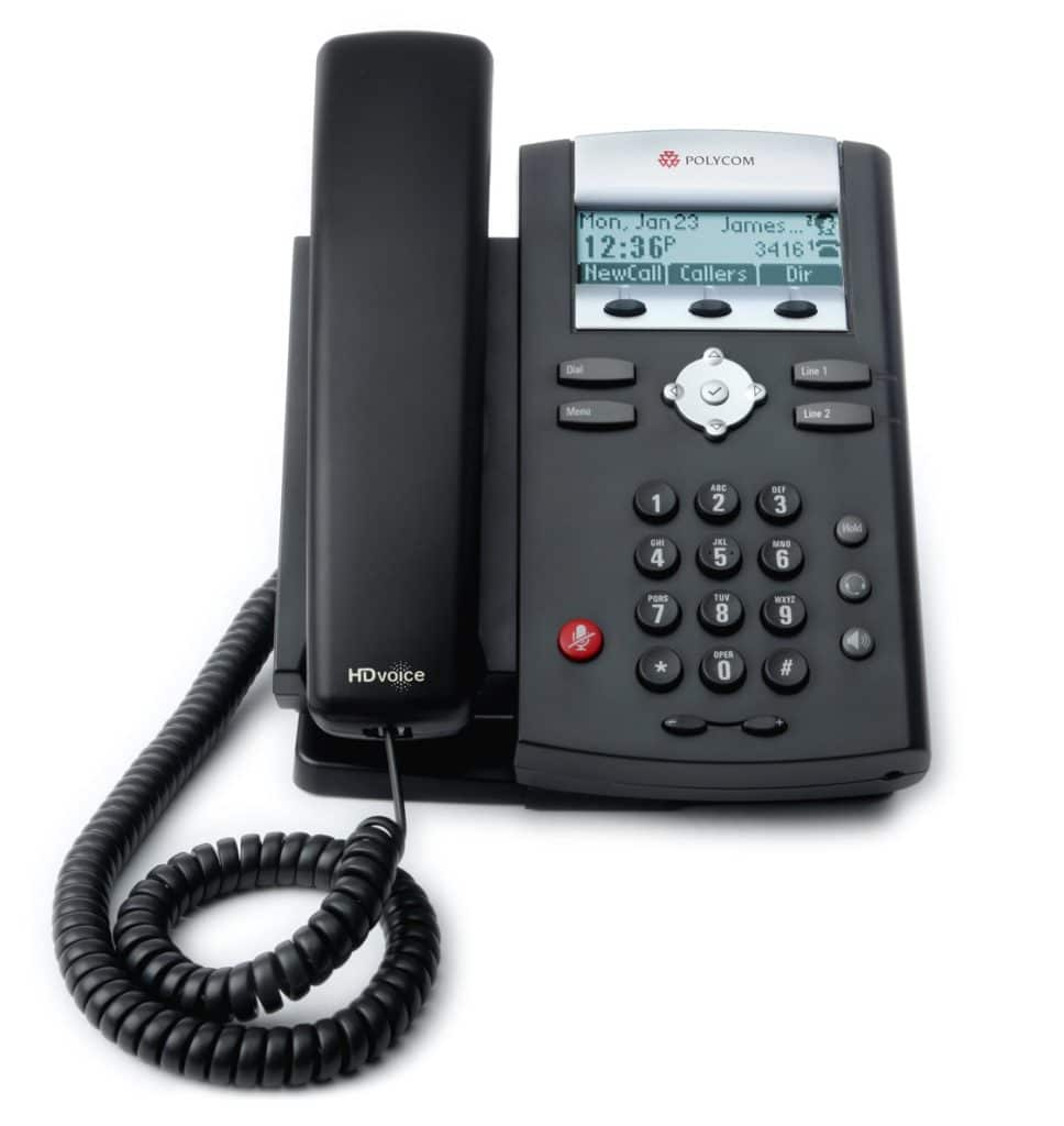 polycom soundpoint ip 335 business phone handset
