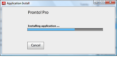 Install Pronto 7