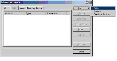 Setup Microsoft Outlook Express 4