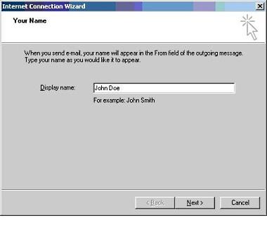 Setup Microsoft Outlook Express 5
