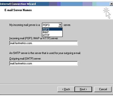 Setup Microsoft Outlook Express 7