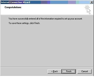 Setup Microsoft Outlook Express 9