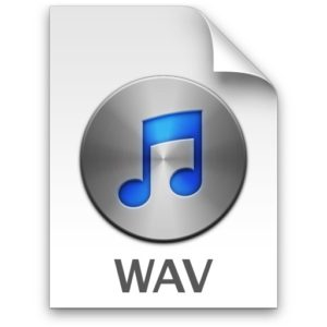 how to make wav files logo
